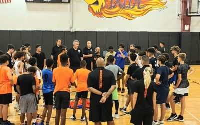 Over 60 Boys At First Tryout for Nona Basketball Boys Program